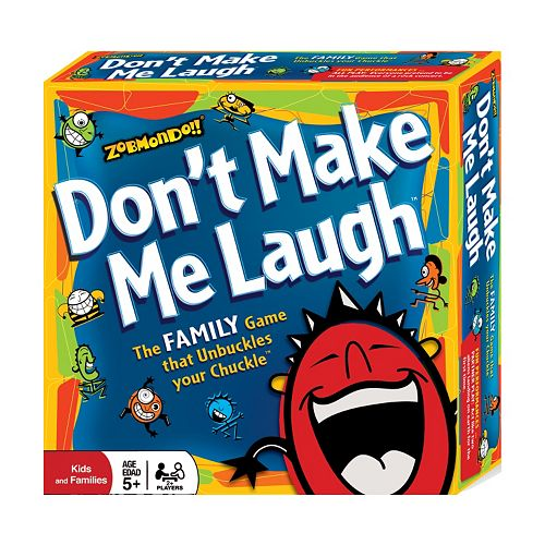 Don't Make Me Laugh Game by Zobmondo