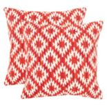 Safavieh Tribal 2-piece Throw Pillow Set