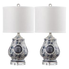 Safavieh Abbie 2-piece Table Lamp Set