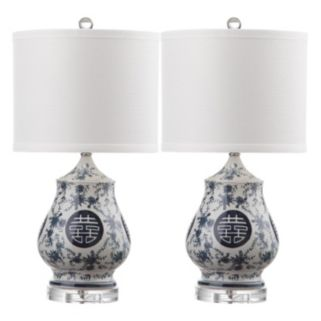 Safavieh Abbie 2-piece Table Lamp Set