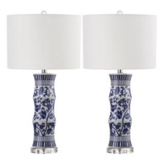 Safavieh Sandy 2-piece Table Lamp Set