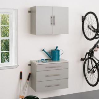 """Prepac HangUps A 30"""" Storage Cabinet 2-piece Set"""