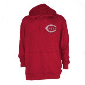 Men's Cincinnati Reds Slub Hooded Pullover