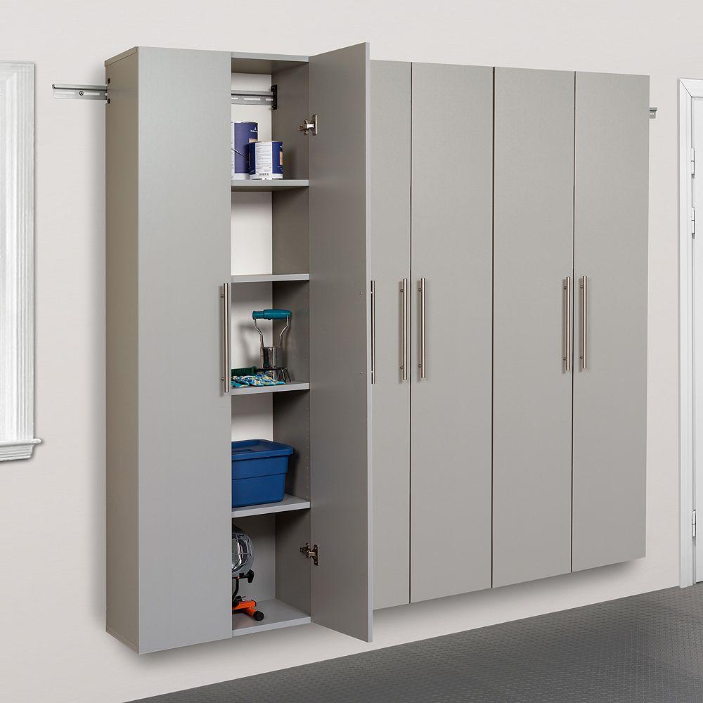 """Prepac HangUps C 72"""" Storage Cabinet 3-piece Set"""
