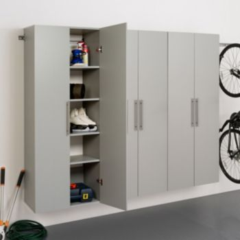 "Prepac HangUps D 90"" Storage Cabinet 3-piece Set"