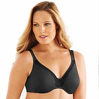 Lilyette Bra: Endless Smooth Unlined Full-Figure Minimizer Bra LY0905 - Women's