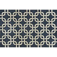 Trans Ocean Imports Liora Manne Spello Chains Geometric Indoor Outdoor Rug