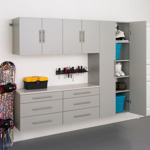 """Prepac HangUps H 90"""" Storage Cabinet 5-piece Set"""