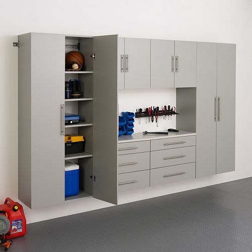 "Prepac HangUps I 120"" Storage Cabinet 6-piece Set"
