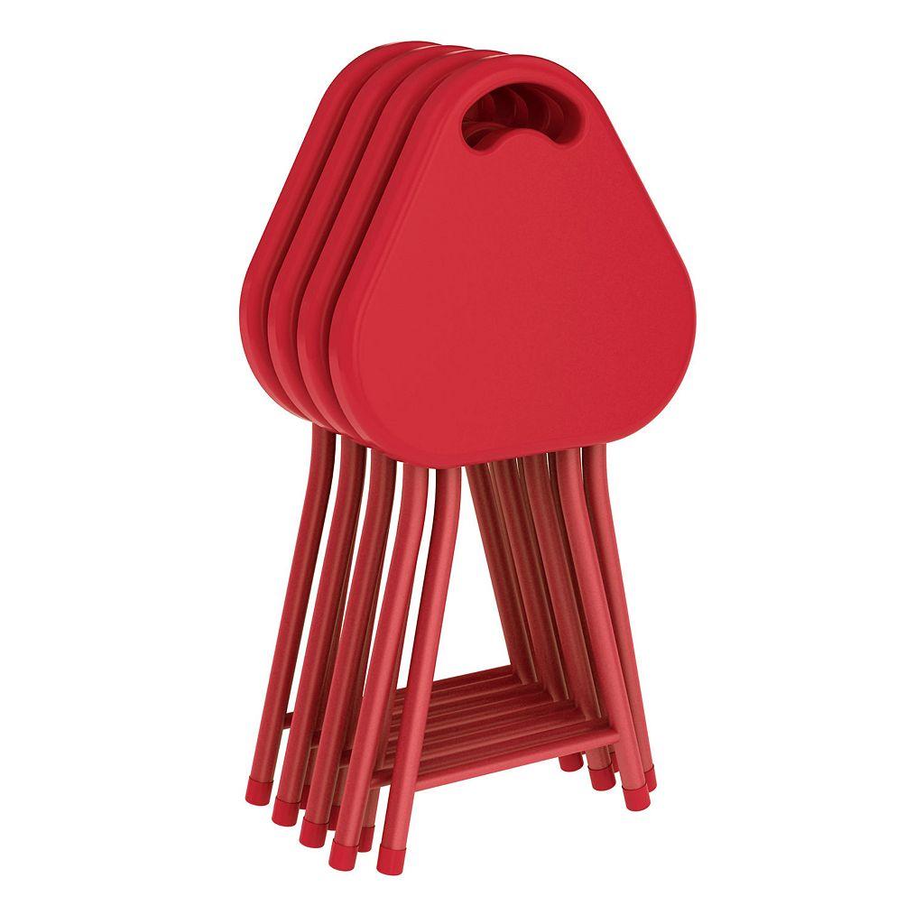 dar 4-piece Folding Stool Set