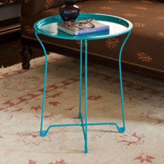 dar Round Metal Side Table