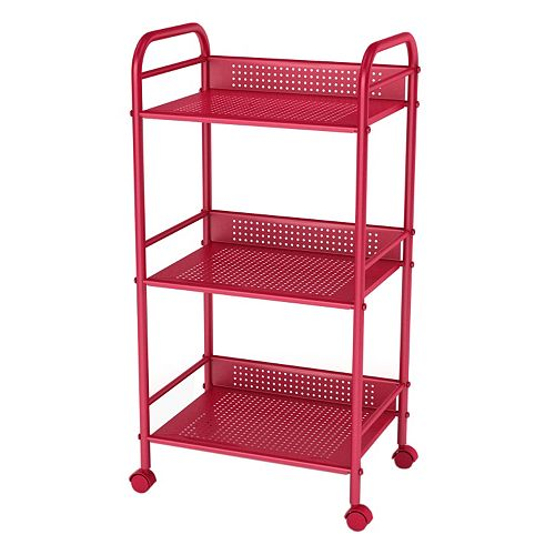 dar 3-Tier Shelving Cart