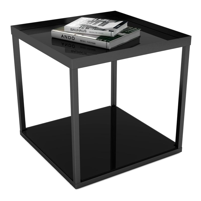 dar Modular End Table, Black