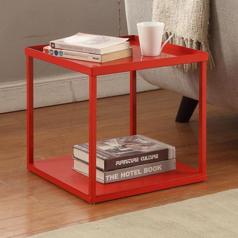 dar Modular End Table, Red