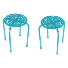 dar Daisy 2-piece Side Table Set