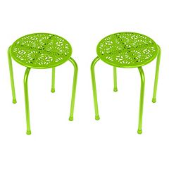 dar Daisy 2 pc Side Table Set