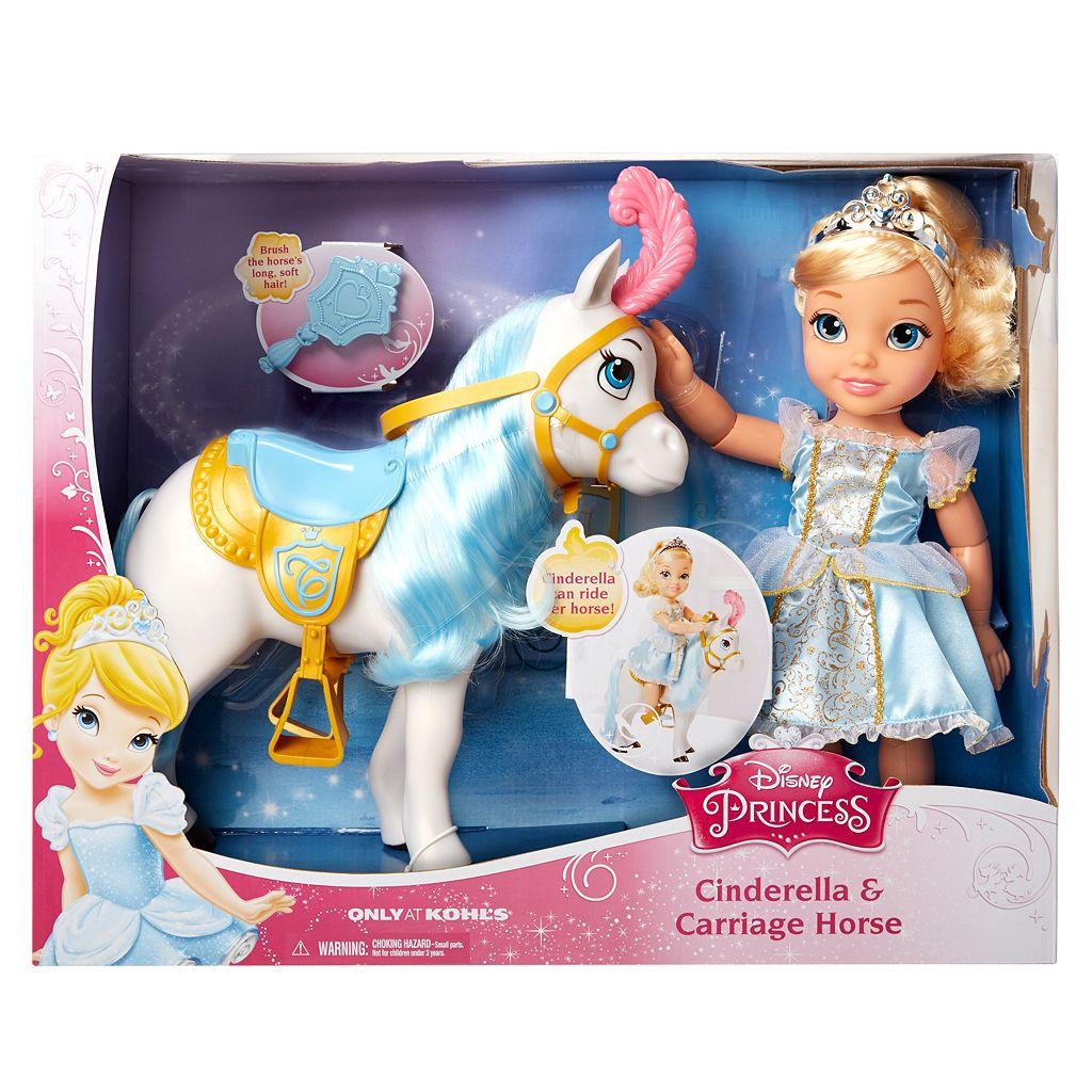 Disney Princess Cinderella & Carriage Horse