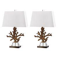 Safavieh 2-piece Bashi Table Lamp Set