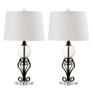 Safavieh 2-piece Anderson Table Lamp Set