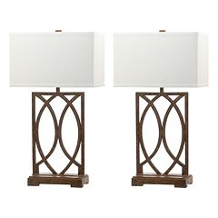 Safavieh 2-piece Jago Table Lamp Set