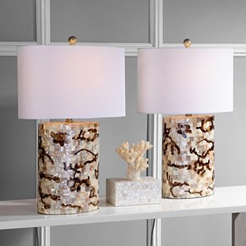 Safavieh 2-piece Zuni Table Lamp Set