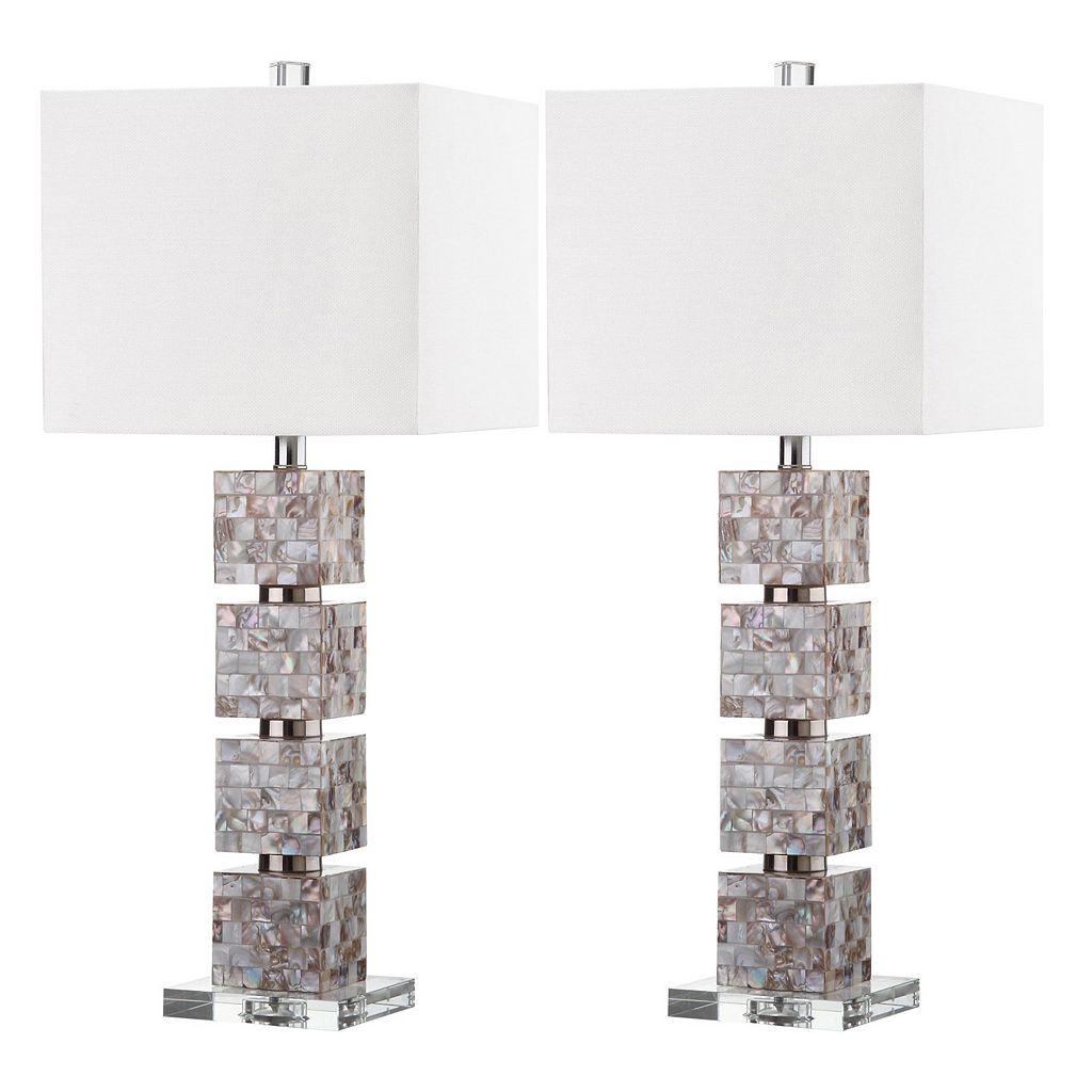 Safavieh 2-piece Rafferty Table Lamp Set