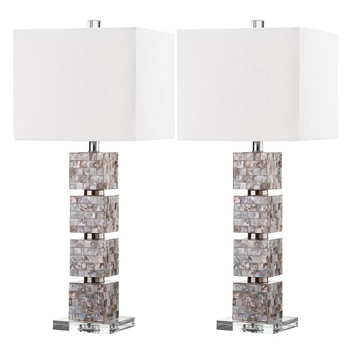 Safavieh 2-piece Rafferty Table Lamp Set