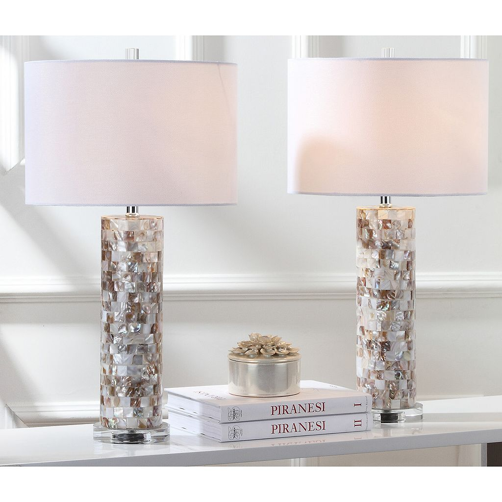 Safavieh 2-piece Boise Table Lamp Set