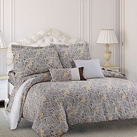 Fiji 300-Thread Count Egyptian Cotton Sateen 5-pc. Duvet Cover Set