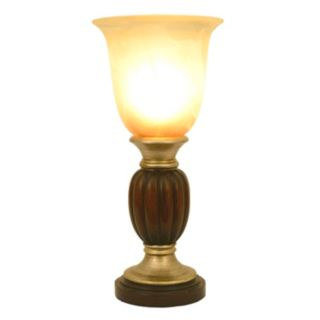 Decor Therapy Champagne Glass Table Lamp