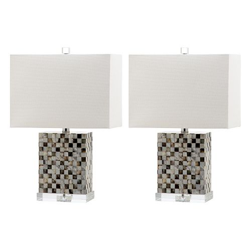 Safavieh 2-piece Thatcher Table Lamp Set