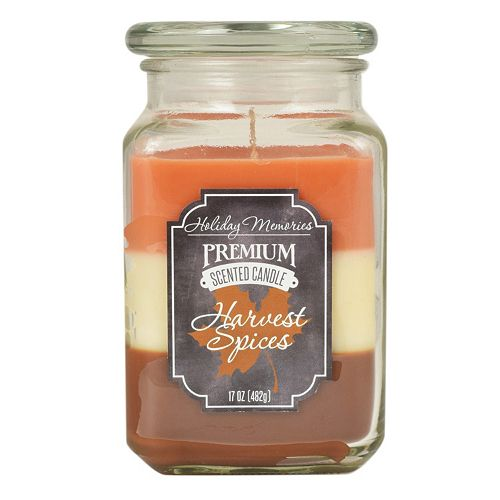 Holiday Memories Harvest Spices 17-oz. Large Jar Candle