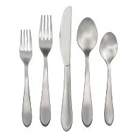 Food Network™ Ginger Satin 45 pc Flatware Set