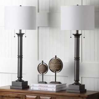 Safavieh 2-piece Estilo Column Table Lamp Set