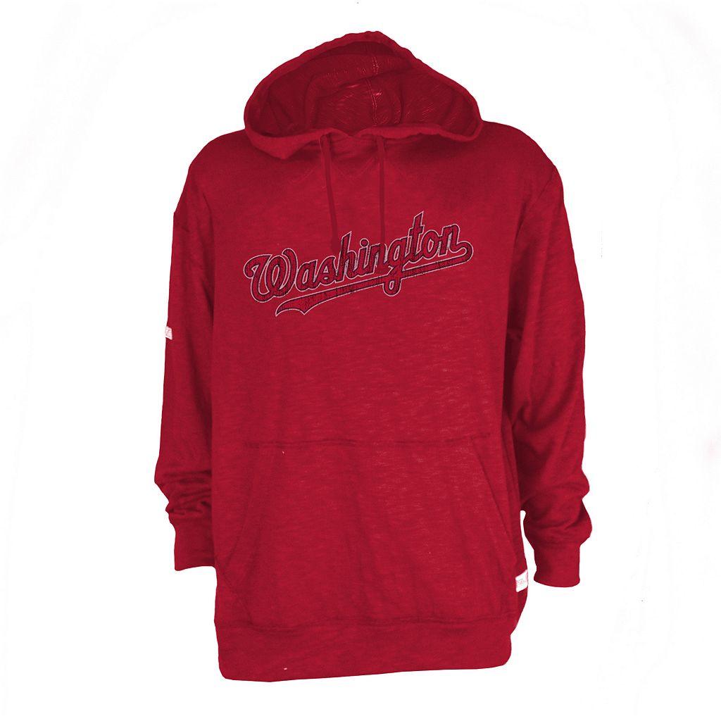 Men's Washington Nationals Slub Hooded Pullover