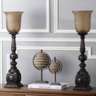 Safavieh 2-piece Dion Artifact Table Lamp Set