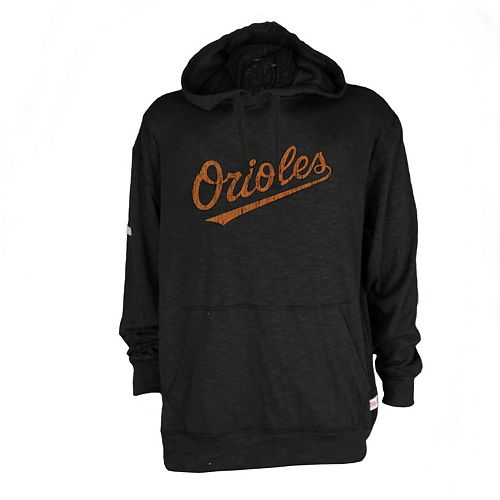 Men's Baltimore Orioles Slub Hooded Pullover