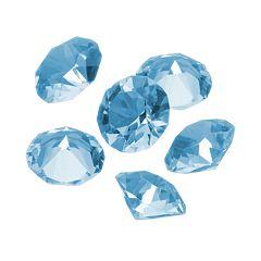 Blue La Rue Crystal Birthstone Set - Made with Swarovski Crystals