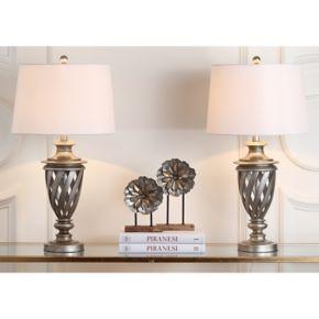 Safavieh 2-piece Byron Urn Table Lamp Set