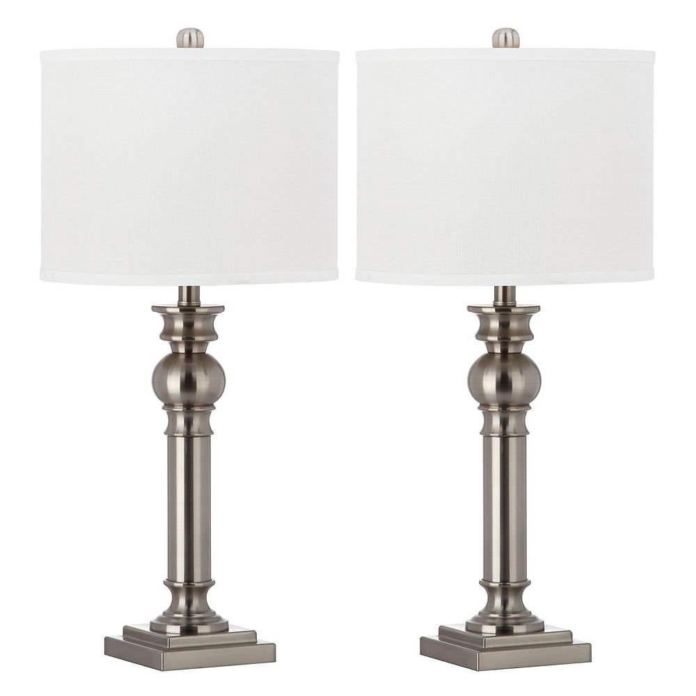 Safavieh 2-piece Argos Column Table Lamp Set