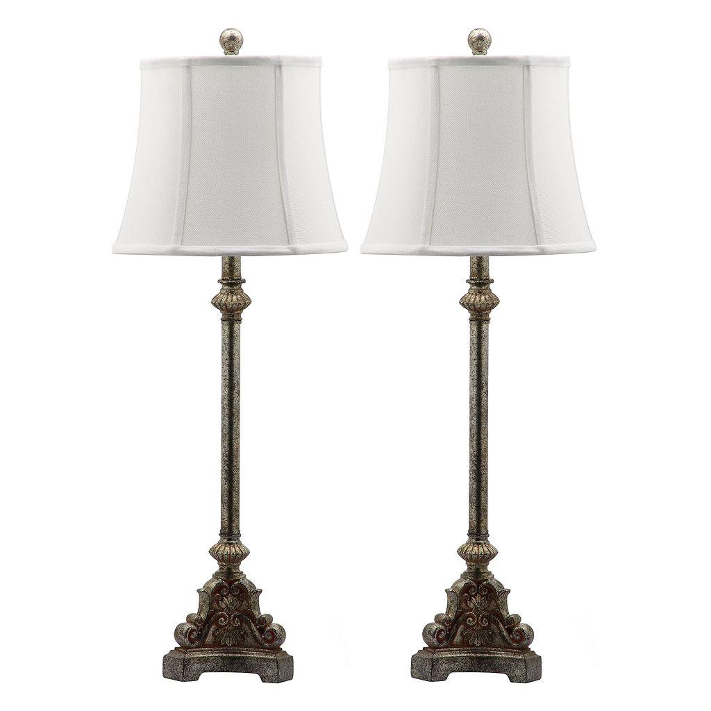 Safavieh 2-piece Rimini Consol Table Lamp Set