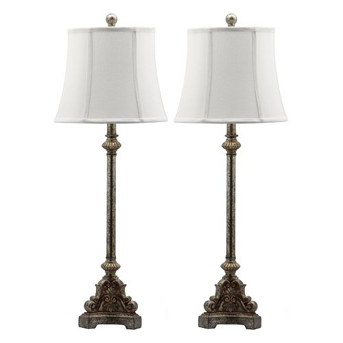Safavieh 2-piece Rimini Consol Table Lamp Set