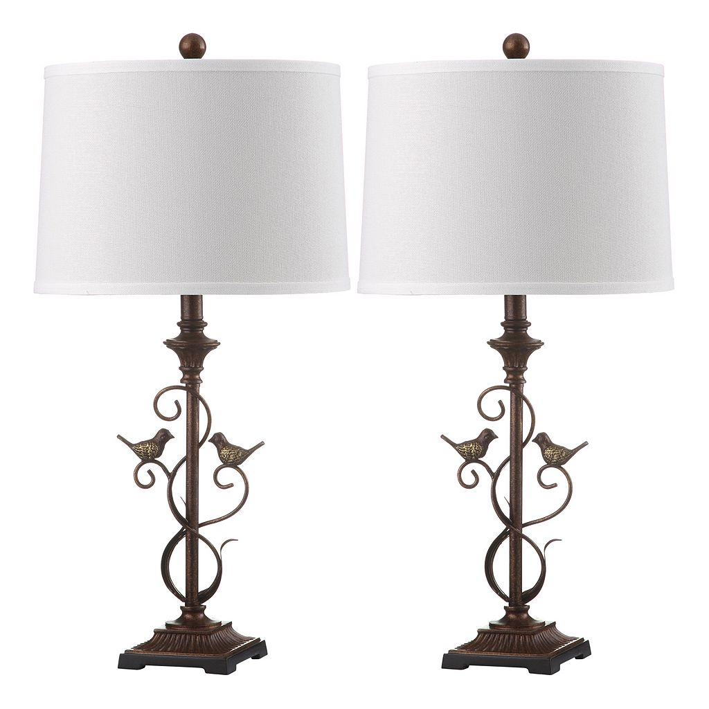 Safavieh 2-piece Birdsong Table Lamp Set