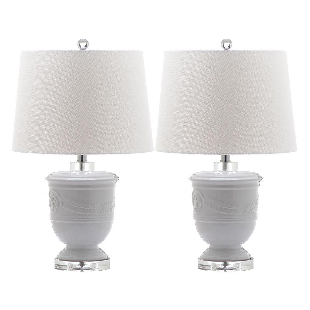 Safavieh Shoal 2-piece Table Lamp Set