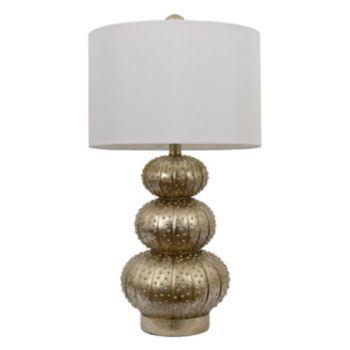 Decor Therapy Metallic Sea Urchin Table Lamp