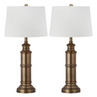 Safavieh 2-piece Mariner Table Lamp Set