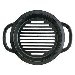 Mr. Bar-B-Q 10 in Cast-Iron Grill Pan