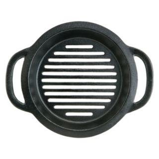 Mr. Bar-B-Q 10-in. Cast-Iron Grill Pan