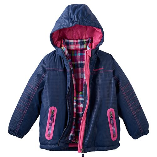Toddler Rugged Bear 3 In 1 Systems Hooded Jacket