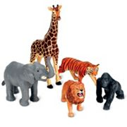 Learning Resources 5 pc Jumbo Jungle Animals